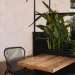tafel met stoel