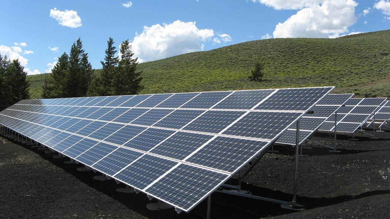 Gemiddelde opbrengst van zonnepanelen